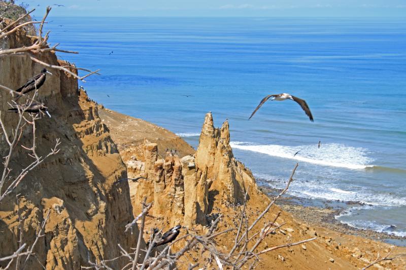 Isla Santa Clara un paraíso natural