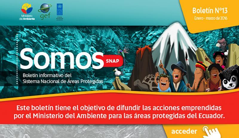 Boletín Informativo SOMOS SNAP enero-marzo 2016