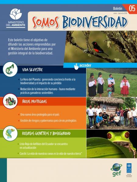 Somos Biodiversidad 5 enero-marzo 2018
