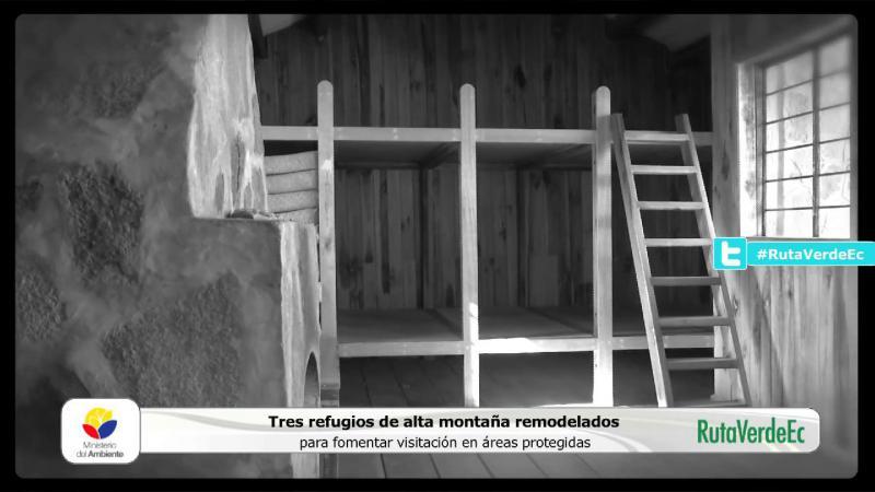 Remodelación Refugios de alta Montaña