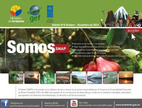 Boletín Informativo SOMOS SNAP  octubre – diciembre de 2014