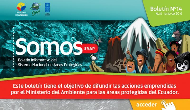 Boletín Informativo SOMOS SNAP abril - junio 2016